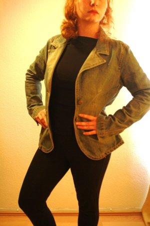Jeans Blazer von Zara perfekt für den Frühling! Gr 40