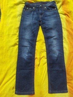 Jeans Blue Fire Gr. 34 W27/L32 dunkelblau