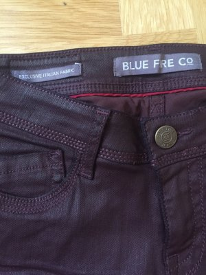 Jeans Blue Fire rotbraun