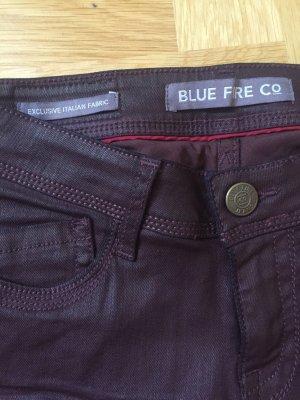 Jeans Blue Fire rotbraun
