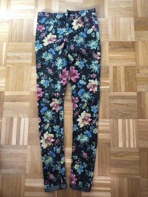Jeans Blumen Topshop Gr. 28 Länge 36