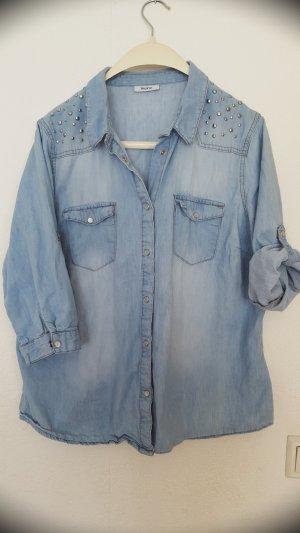 Yessica Denim Blouse light blue