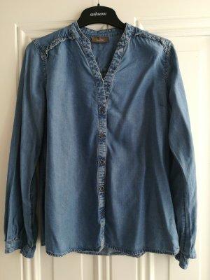 C&A Jeans blouse azuur