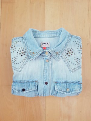 Only Denim Blouse multicolored