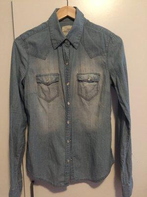 Jeans Bluse Gr.38 H&M