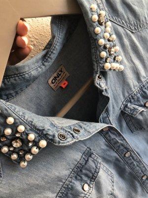 Jeans Bluse / Hemd von only
