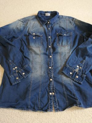 Michele Boyard Denim Blouse steel blue