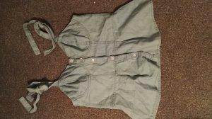 Jeans Bluse mit schönem Ausschnitt 40