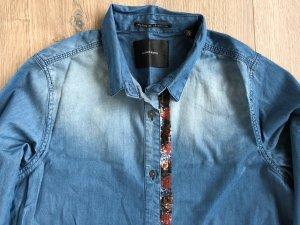 Jeans Bluse mit Stickerei NEU von Scotch & Soda