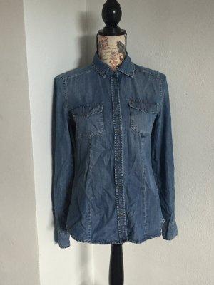 Jeans-Bluse von Hallhuber