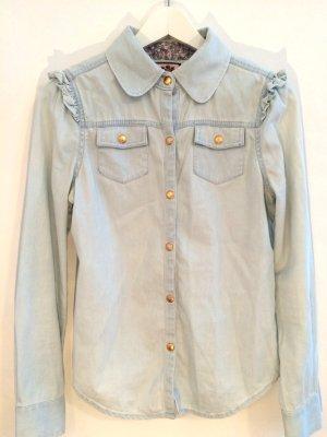 Jeans Bluse von JUICY COUTURE, Gr. 4