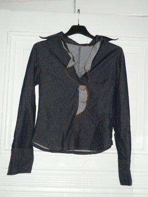 Jeans-Bluse von Zara