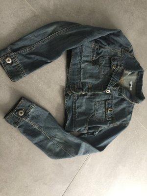 Madonna Blazer en jean bleu