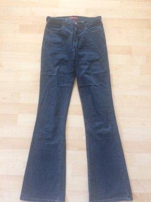 Jeans Boot Cut 27 Indian Rose blau
