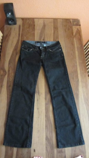 Jeans, Bootcut, dunkelblau – Gr. 38