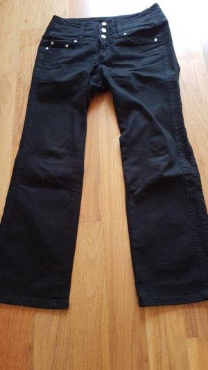 Jeans Bootcut Fit High Waist, John Baner