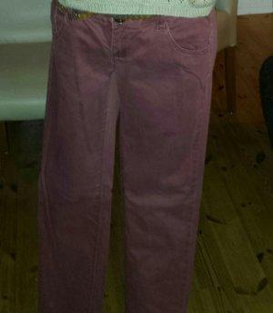 Jeans bordauxefarben