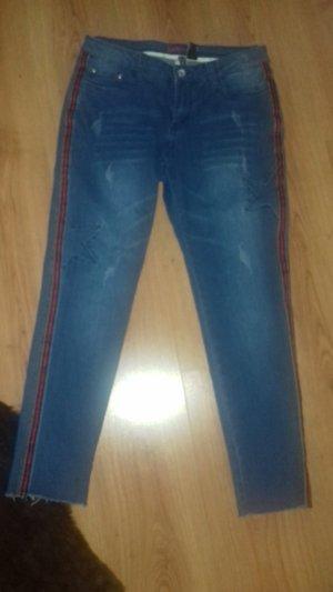 Rainbow Jeans boyfriend blu scuro