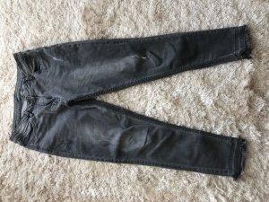 Jeans boyfriend grau gr. 42