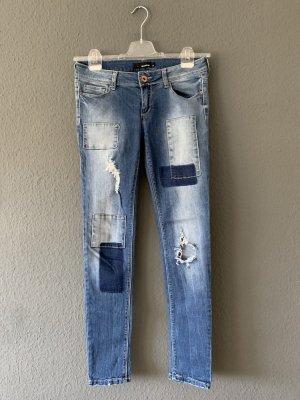 Jeans, Boyfriend-Jeans, Denim