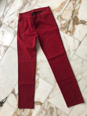 Brax Pantalone cinque tasche rosso lampone Cotone