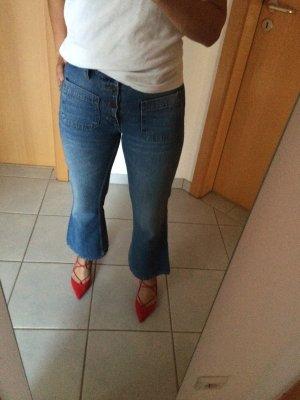 Jeans breitbeinig von Zara