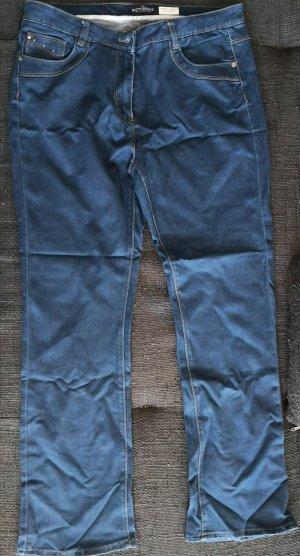 Jeans, C&A, dunkelblau, Gr. 44