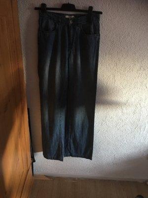 H&M Jeans a zampa d'elefante azzurro