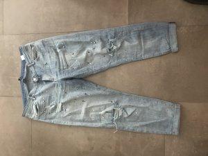 H&M Conscious Exclusive 7/8-jeans azuur