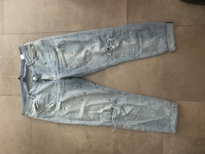 H&M Conscious Exclusive Jeans a 7/8 azzurro