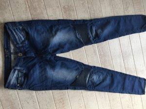Pepe Jeans Slim jeans staalblauw Katoen