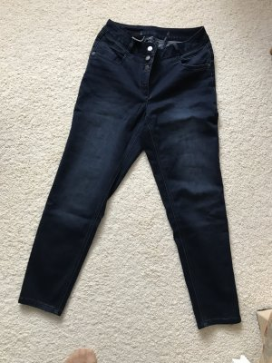 Madeleine Stretch jeans donkerblauw Gemengd weefsel