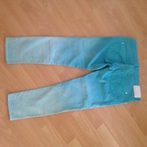 Jeans Calvin Klein Gr. 32 grün mit Verlauf