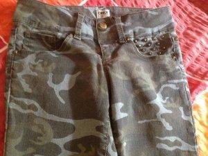 Jeans Camouflage von Only Gr. 34 Länge 34