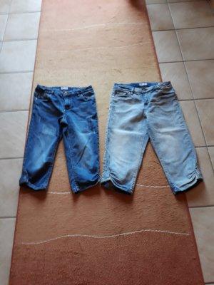 Arizona 3/4-jeans lichtblauw-blauw