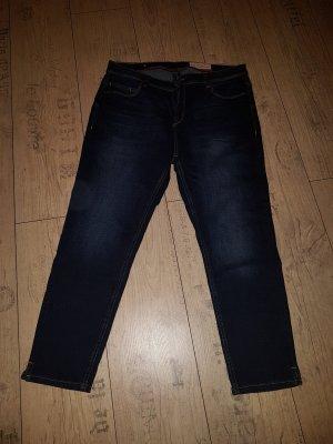 Esprit Pantalón capri azul-azul oscuro