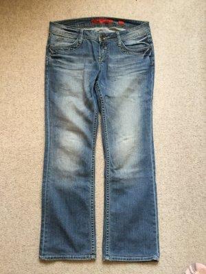 "Jeans, ""CATIE"", gerade geschnitten, niedrige Leibhöhe"