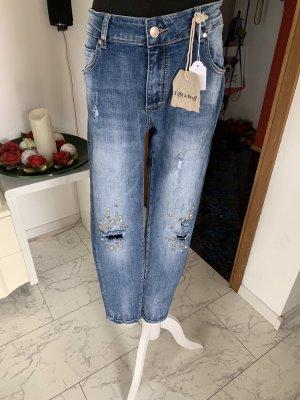Tiffi Stretch jeans azuur