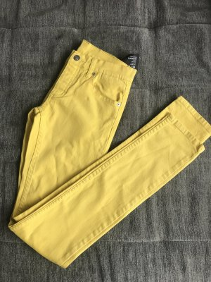 Jeans Cheap Monday Narrow Bright Yellow Röhre W28 L34 unisex gelb