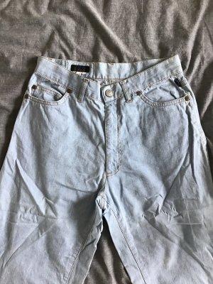 Christian Lacroix High Waist Jeans baby blue