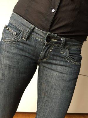 Jeans con CROSS 28/32 blaugrau