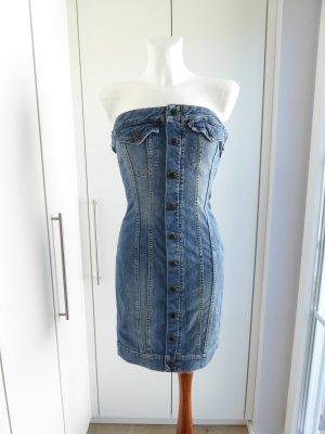 Jeans Corsagenkleid