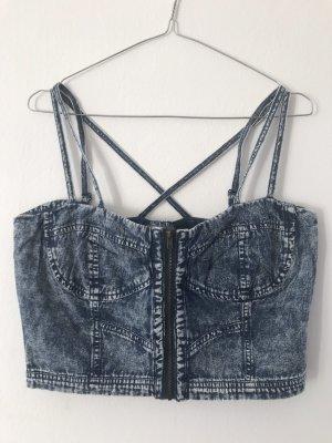 Jeans-Croptop