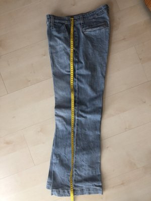 Adriano Goldschmied 7/8 Length Jeans azure cotton