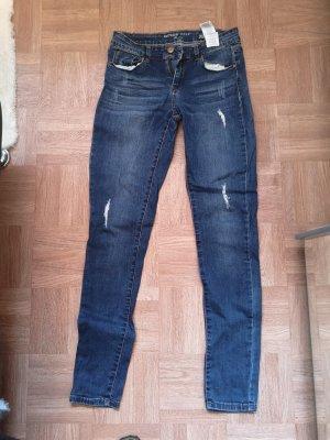 Orsay Tube Jeans blue