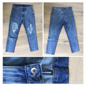 Calzedonia Jeans a 7/8 blu scuro-blu acciaio