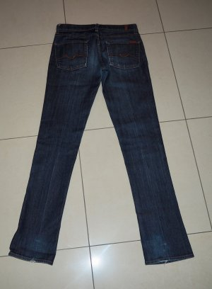 7 For All Mankind Vaquero azul oscuro