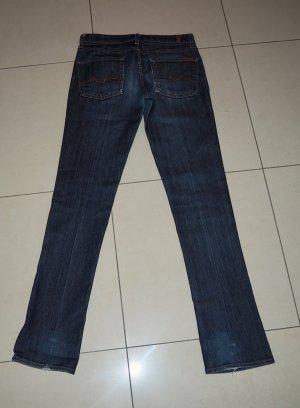 Jeans Damen 7 for all mankind 27 Roxy Hose blau S 36