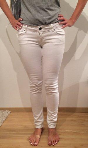 Jeans Damen Jeanshose weiß New Yorker