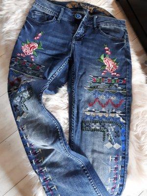 Desigual Stretch Jeans blue
